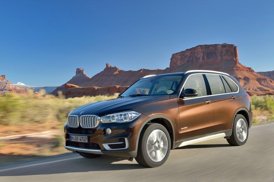 2014 BMW X5 and X5 M Sport Revealed.