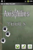 Screenshot of Axis and Allies Tools