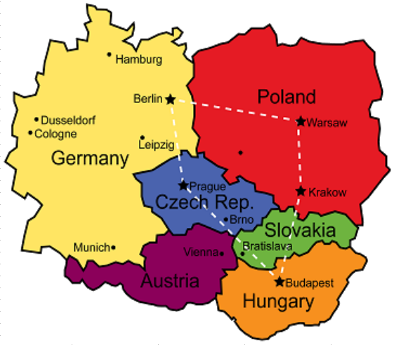 Europe Round Two To the East Travel – Travel Map Of Eastern Europe