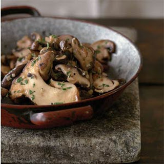 Garlicky Sautéed Mushrooms