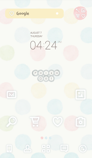 polka dot dodol theme - screenshot