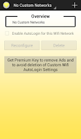 Screenshot of Wifi AutoLogin