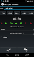 Screenshot of Music Alarm Megalarm Lite