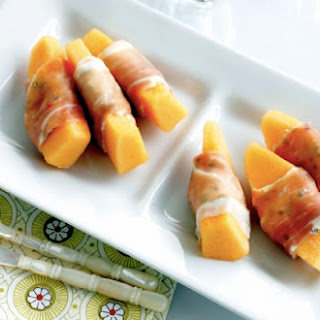 Ricotta-Stuffed Prosciutto And Melon