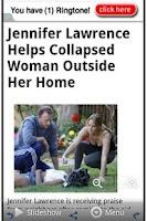 Screenshot of Celebrity News App