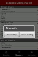 Screenshot of Lebanon Movies Guide