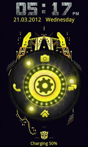 Transformers Locker Bumble Bee