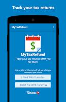 Screenshot of MyTaxRefund by TurboTax – Free