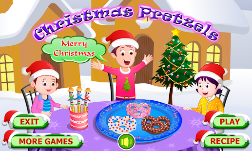 Christmas Pretzels Cooking - screenshot