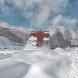 Snow fall by Stanislav Horacek - Buildings & Architecture Homes