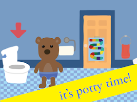 Screenshot of Potty Training Game