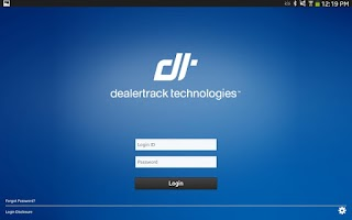 Screenshot of Dealertrack Mobile