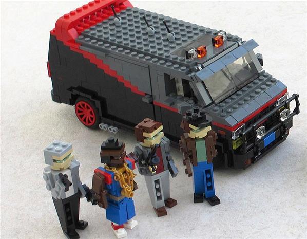 A-Team lego van
