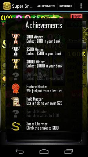 Super Snake Slot Machine + - screenshot