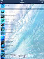 Screenshot of DevOcean Dive