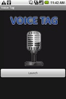 Screenshot of Voice Tag