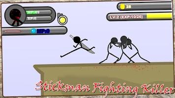 Screenshot of Stickman Fighting Killer
