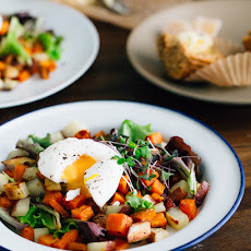 Two-Potato Hash with Soft-Boiled Eggs
