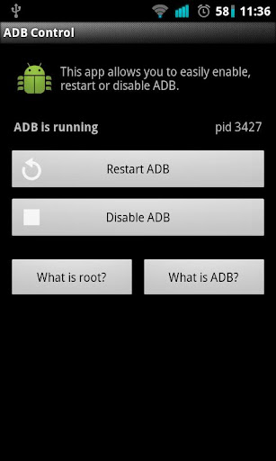 ADB Control for Root Users