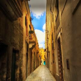 Rabat-Malta by Lino Chetcuti - City,  Street & Park  Historic Districts