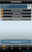 Screenshot of droid Survey Offline Forms