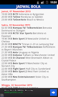 Screenshot of Jadwal Sepak Bola (NEW)