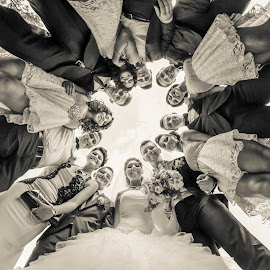 by Cristi Rus - Wedding Groups ( friends, wedding, bride, group, groom )