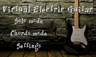 Screenshot of Virtual Electric Guitar