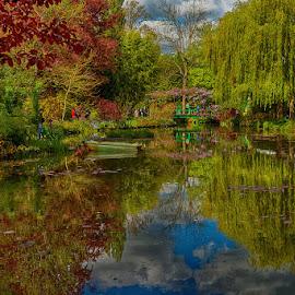 Monet's realm by Radu Eftimie - City,  Street & Park  City Parks ( france, giverny, monet's gardens,  )