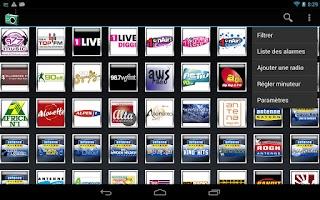 Screenshot of AndroRadio