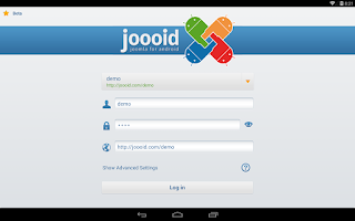 Screenshot of Joooid! Joomla for Android