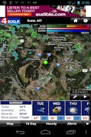 Screenshot of KXLF Weather