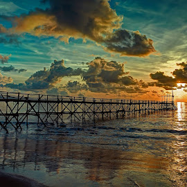 by Daniel Widjaja - Landscapes Sunsets & Sunrises ( bridge )