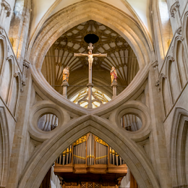Wells Cathedral by Martin Lee - Buildings & Architecture Places of Worship ( wells, interior, organ, cathedral, religious )