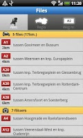 Screenshot of ANWB Verkeer