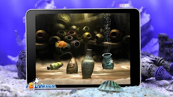 Screenshot of iQuarium - virtual fish
