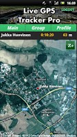 Screenshot of Live GPS Tracker Pro