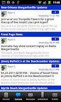 Screenshot of Jimmy Buffett Info