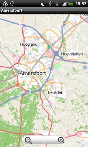 Amersfoort Street Map