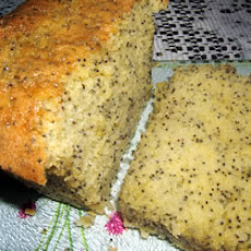 Moist Lemon Poppy Seed Cake