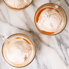 Chai Affogato (with Honey-Sweetened Coconut Milk Ice Cream)
