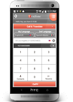 Screenshot of Automatic in-call Translator