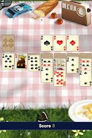 Screenshot of Solitaire: lunch break !