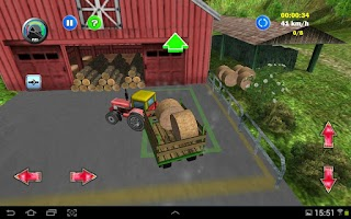 Screenshot of Tractor: More Farm Driving