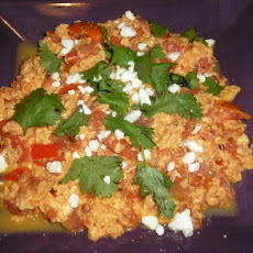 Turkish Scrambled Eggs (Menemen)
