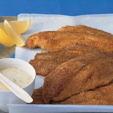 Spicy Cornmeal-Crusted Catfish