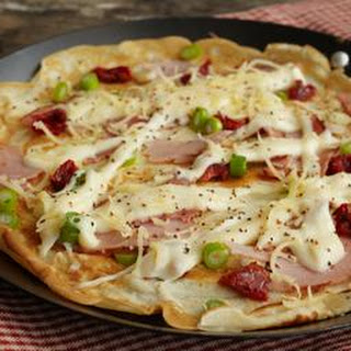 Savoury Pancakes With Ham And Cheese