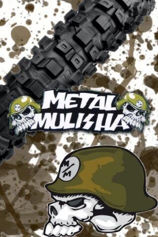 GO SMS PRO Metal Mulisha Theme