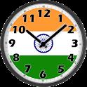 India Clock icon