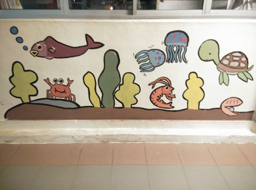 Creatures Of The Sea Mural